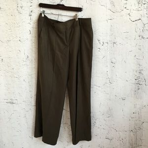 TALBOTS BROWN TROUSERS 16